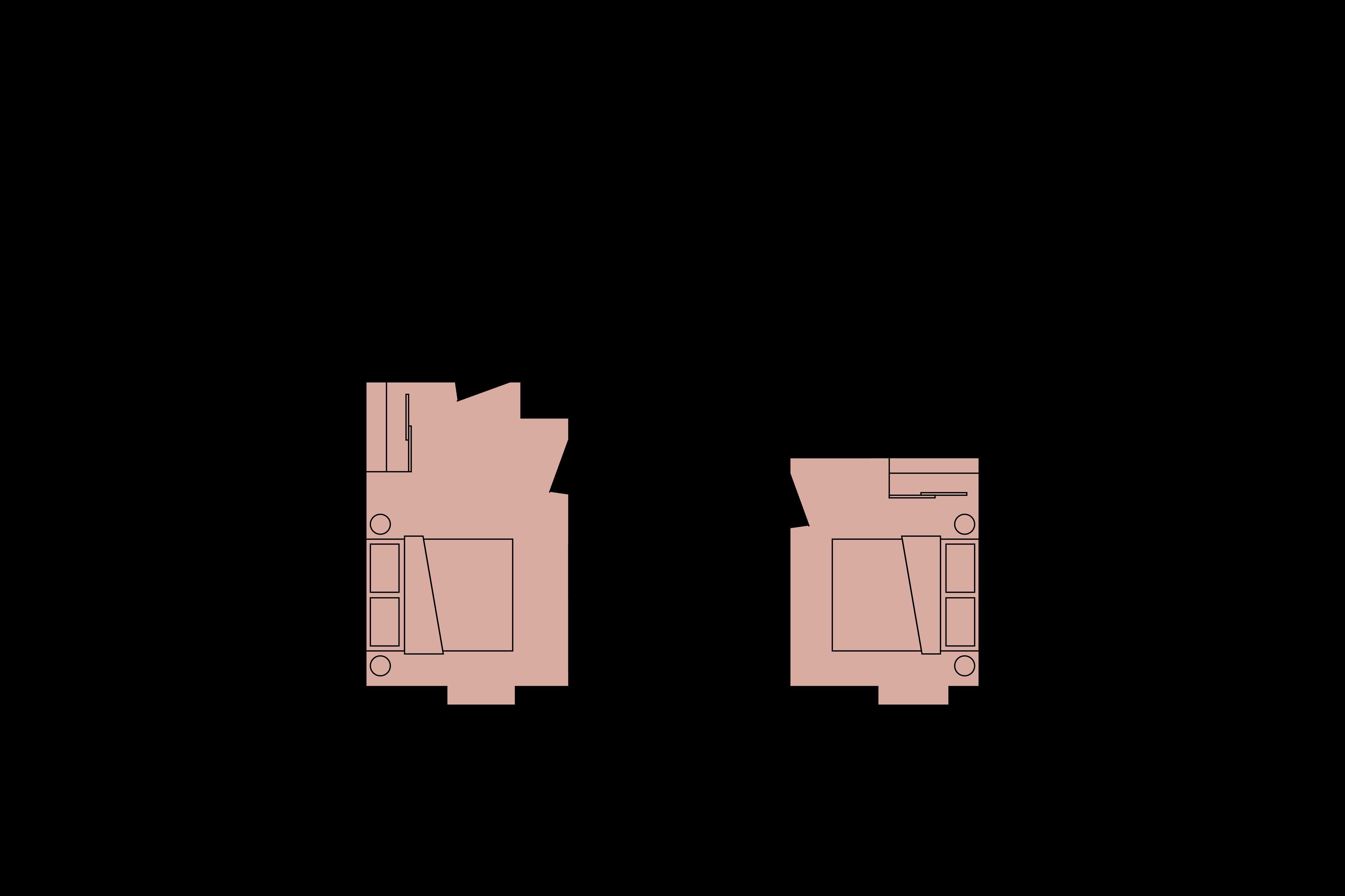 Floor plan for 2 Bed – North Block
